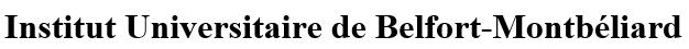 IUT Belfort Montbeliard