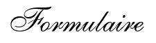 Formulaire ASI11 - 2021